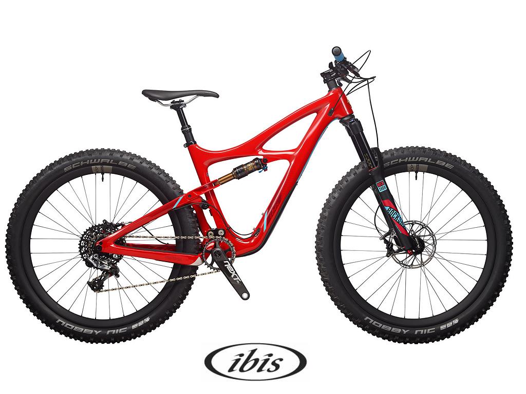 Ibis Mojo 3 27.5 Plus with 2.8 tires